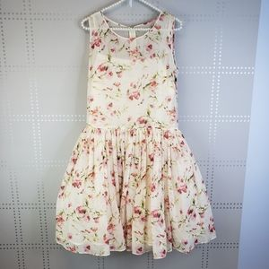 Red Valentino Spa Silk Floral Dress